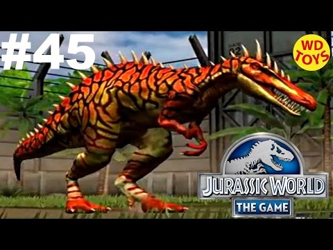Jurassic World - The Game Dinosaurs Ludia Episode 45  HD - WD Toys
