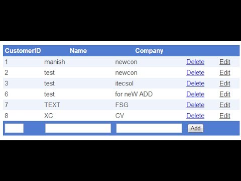 gridview insert update delete in asp net