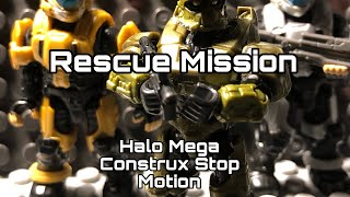 Rescue Mission (Halo Mega Construx Stop Motion)