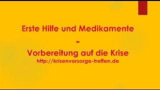 Erste Hilfe und Medikamente - krisenvorsorge-treffen.de