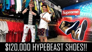 Download $120,000 NIKE SNEAKERS! (HYPEBEAST) Mp3 and Videos