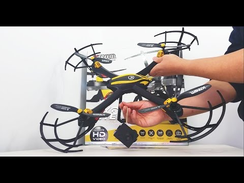Swann Xtreem Fly Eye Video Drone 720P Assembly Unboxing