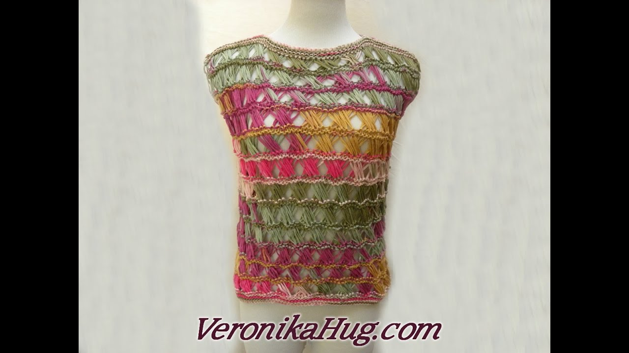 Stricken Top Assisi Woolly Hugs Bandy 04 Veronika Hug Youtube