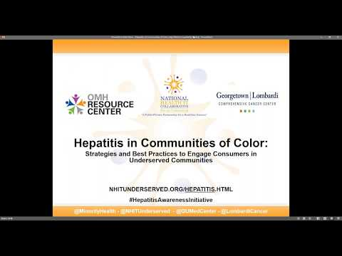 Hepatitis in Communities of Color: Strategies and Best Practices