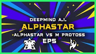 AlphaStar vs Master Protoss Ep5 [TvP] Deepmind A.I. Starcraft 2