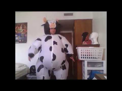 Inflatable Cow Costume Rubie's Version