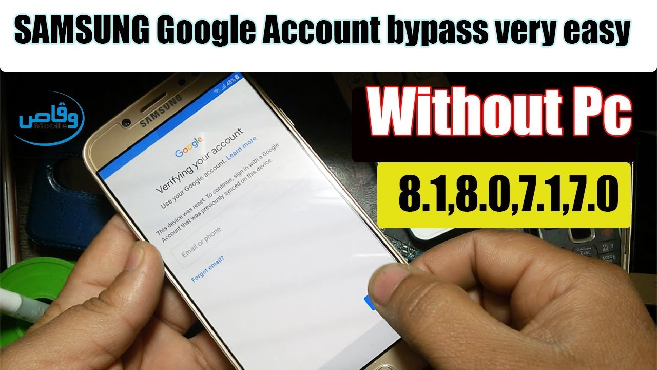 Samsung Mobile Google Account bypass Without Pc 2019