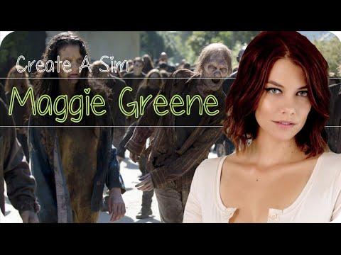 DIE SIMS 4 - Create A Sim ● Maggie Greene | Lauren Cohan [The Walking Dead] [Deutsch|HD]