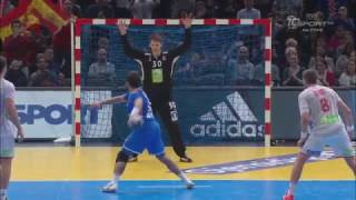 Norway 22:22 Croatia - Penalty 60 minutes - Penalty NO GOAL - France Handball 2017