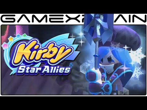 Getting the Cold Shoulder from Francisca in Kirby: Star Allies! (Boss Fight Gameplay)