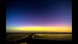 Aurora Borealis Neuharlingersiel Northern Germany 12.09.2014