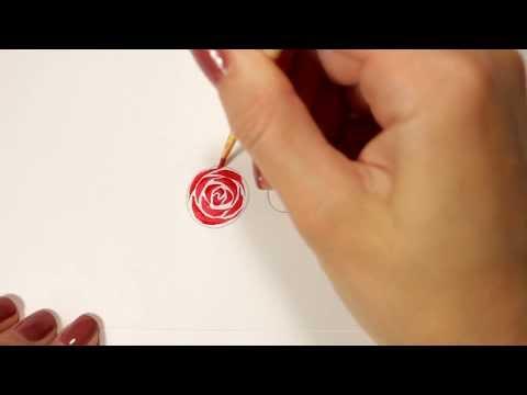 Винтажные розы на ногтях: идеи + уроки