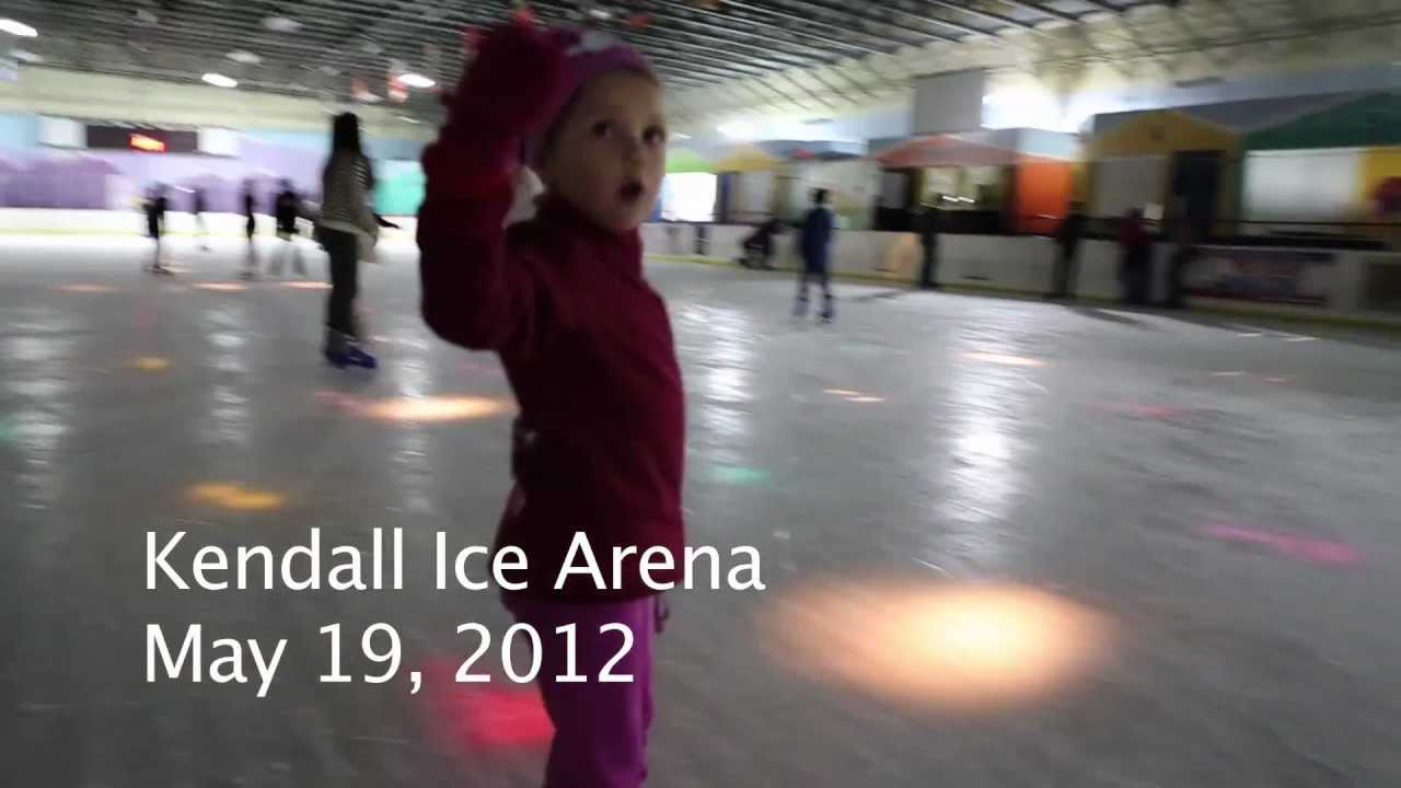 Roller skating kendall - 5 Year Old Francesca Skating At Miami S Kendall Ice Arena