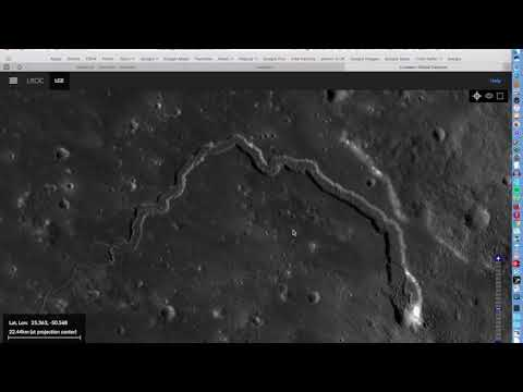 Possible Evidence of Surface Water Erosion on Moon.