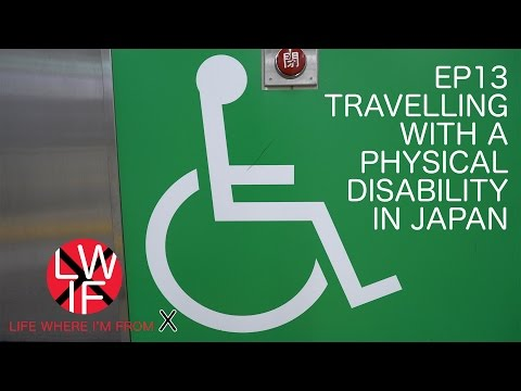 Travelling With a Physical Disability in Japan