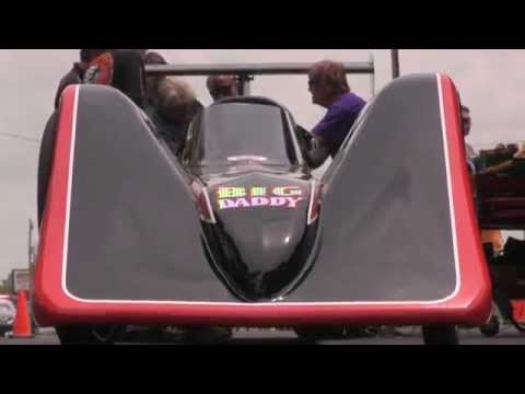 NitroAmerica 2014 - Don Garlits Electric Dragster Test