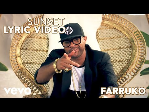 Farruko - Sunset (Official Lyric Video) ft. Shaggy, Nicky Jam