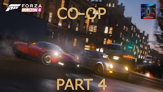 Forza Horizon 4 Xbox One X - PT4 - Co-Op Races!!!