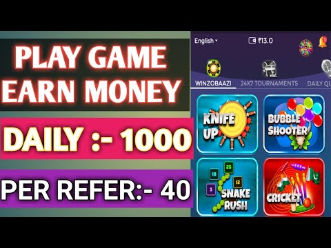 Play Game And Win Cash