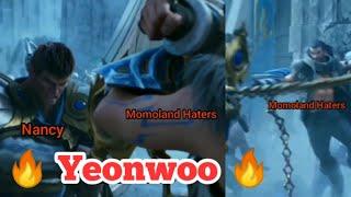 Momoland Nancy vs Momoland Haters   Yeonwoo Lee Dabin 연우 사랑