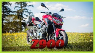 ESSAI MOTO - KAWASAKI Z900 2018 FULL - UN ROADSTER SANS ELECTRONIQUE