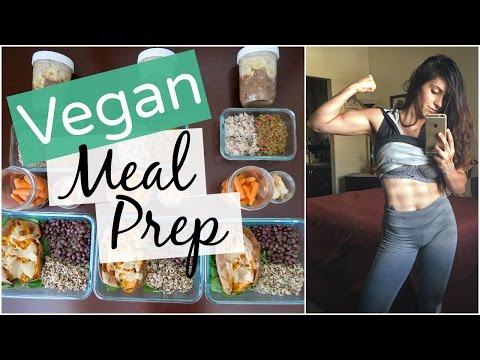 🍴👩🏻‍🌾Healthy Vegan Meal Prep Ideas #1 (Female Bodybuilding & Fitness)💪🏼