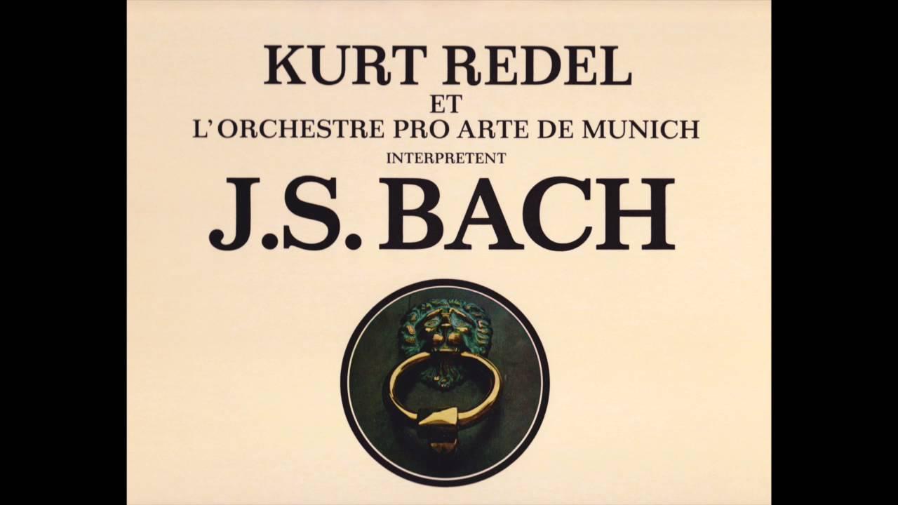 J.S.Bach - Kurt Redel. Suite pour luth N°2.