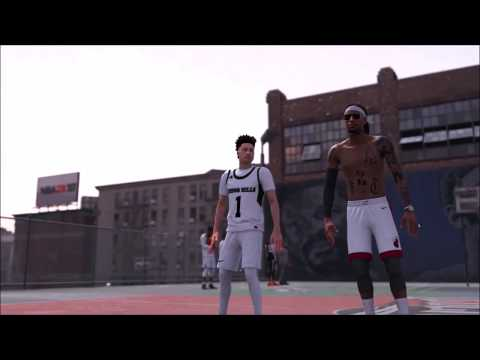 THE REAL LAMELO BALL PLAYED NBA 2K18 PLAYGROUND WITH MY ACCOUNT