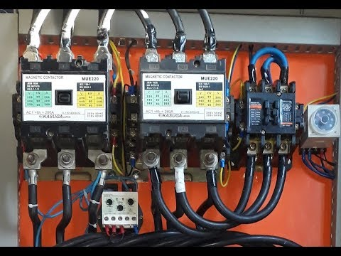 Electrical Panel Board Video | Circuit breaker | Star Delta Starter-Forward Reverse Starter in Urdu
