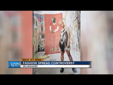Milwaukee Magazine fashion layout generates online controversy