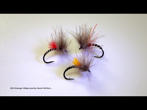 Tying a Small CDC Emerger Midge by Davie McPhail