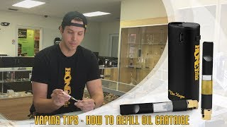 How to Fill Up Oil Cartridge | Refill BeeKeeper Oil Cartridge