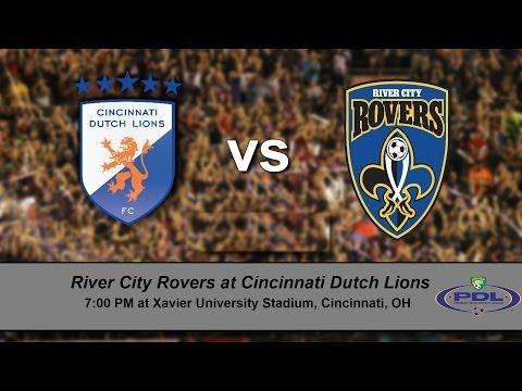 Cincinnati Dutch Lions vs River City Rovers
