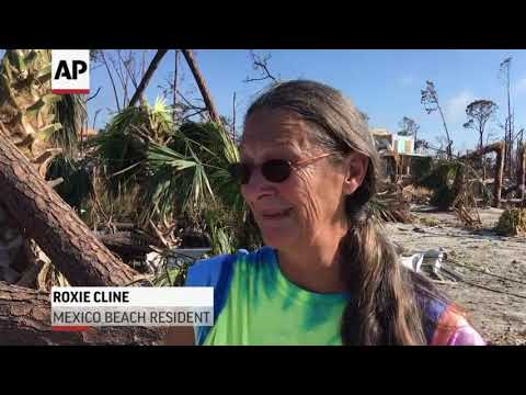 Squalor amid destruction left by Hurricane Michael