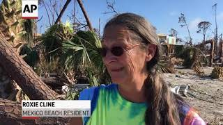 Squalor amid destruction left by Hurricane Michael thumbnail