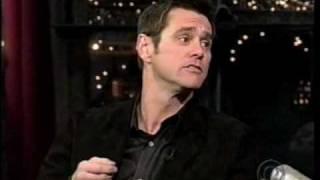 Jim Carrey - Hilarious Christmas Singing on Letterman