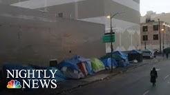 Inside California's Homeless Crisis | NBC Nightly News