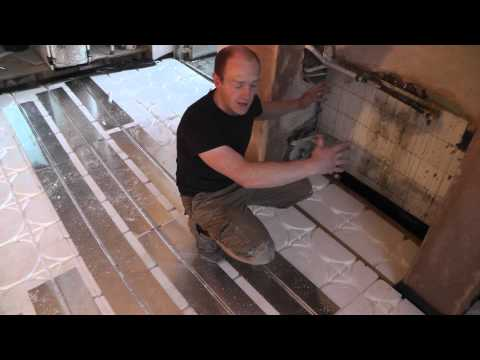 DIY Underfloor Heating - Wet Floating Floor System