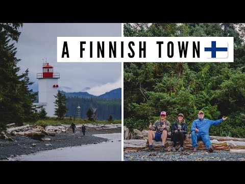 SOINTULA: Visiting a FINNISH TOWN 🇫🇮 + Former Utopia on Malcolm Island, BC