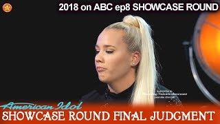 Gabby Barrett sings Carrie Underwood's Church Bells Showcase Round Final Judgment American Idol 2018