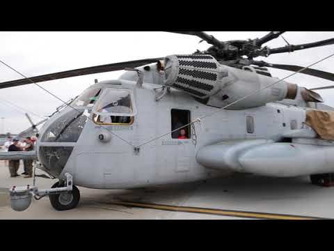 CH-53E Super Stallion walkaround at Joint Base McGuire-Dix-Lakehurst Air Show 2018