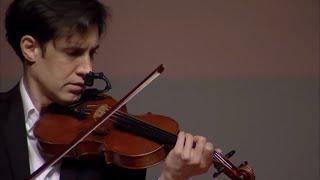 Violin Performance: Presto \u0026 Largo by J.S Bach | Nollaig C.V. Walsh | TEDxWoosongUniversity