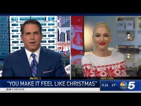 Gwen Stefani Talks Her 'You Make It Feel Like Christmas' Album & TV Special - YouTube