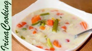 Самый быстрый сырный суп - очень вкусный | The Fastest Cheese Soup – Simple & Delicious