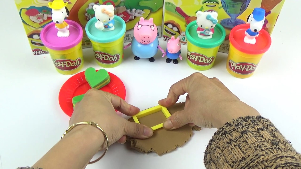 play doh cakes - Funny play doh for children.