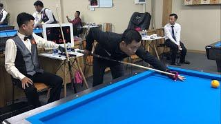 Trần Bảo Vương vs Đinh Quang Hải. Billiards Út Nhi