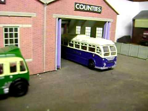 Model Railway Bus Repair Welding Flash – Created with LED & PIC Microcontroller
