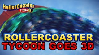 Rollercoaster Tycoon 3D - 3DS - Teaser trailer