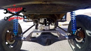 Ford Ranger 4 Link Suspension Build - (2018) Reckless Wrench Garage