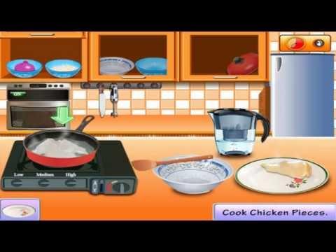 เกมทำอาหาร Saras Cooking Class Rice Chicken